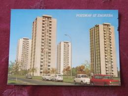 Croacia Unused Postcard Zagreb Buildings - Croatie