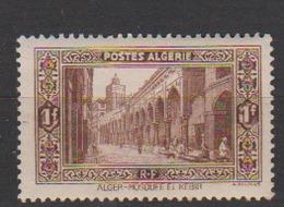 ALGERIE         N°  YVERT  :   116     NEUF AVEC  CHARNIERES      ( Ch 1/17  ) - Algérie (1924-1962)