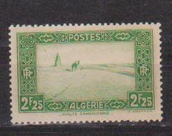 ALGERIE         N°  YVERT  :   121     NEUF AVEC  CHARNIERES      ( Ch 1/17  ) - Algérie (1924-1962)