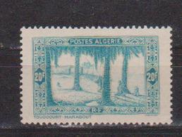 ALGERIE         N°  YVERT  :   126        NEUF AVEC  CHARNIERES      ( Ch 1/17  ) - Algérie (1924-1962)