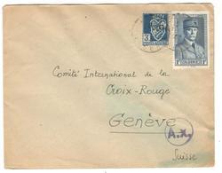 14119 - Avec Censure  Pour La SUISSE - Algérie (1924-1962)