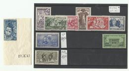 Martinique, Un Lot De Timbres Neufs Sur Plaquette, Voir Scann - Martinique (1886-1947)