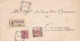 Un Annullo Per Paese Vada (Pisa) Tondo-riquadrato - 1900-44 Vittorio Emanuele III