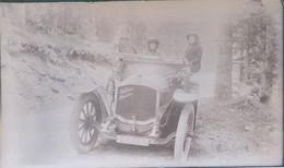 I51 - Ancienne Photographie Photo Négatif Sur Verre - Automobile Dedion Bouton En Gros Plan - Plaques De Verre