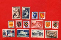 Lot De 14 Timbres FRANCE Neufs Xx - France