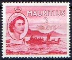 GREAT BRITAIN #   MAURITIUS FROM 1953 STAMPWORLD 262** - Maurice (...-1967)
