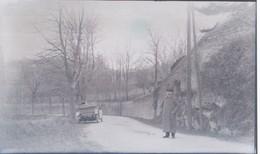 I51 - Ancienne Photographie Photo Négatif Sur Verre - Paysage Sur Route D'IRIGNY - Rhône - 21/12/1913 - Plaques De Verre