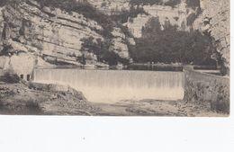 Cp , 39 , CERNON , Le Saut-du-Mortier , Le Barrage De La Rivière D'Ain - France