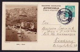 CROATIA -  BASKA - ILLUSTRATED POSTAL CARD Ganzsache Stationery 1938 (see Sales Conditions) - Entiers Postaux