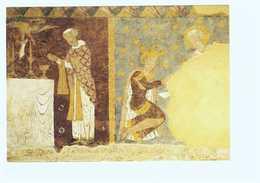 86 Civray Eglise Saint Nicolas Fresque De St Gilles St Gilles Dans Son Monastere CPM - Civray
