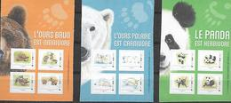 France 2019 - Collectors - Ours Brun, Blanc, Panda ** - France
