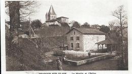HAUTE VIENNE - 87 - ORADOUR SUR GLANE - Guerre 39-45 - Avant Massacre - Moulin Et église - Oradour Sur Glane