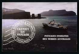 TAAF 2007 Carnet N° C478 ** ( 478/493 ) Neuf MNH Superbe C 80 € Voyages Terres Australes Lac Paysages Kerguelen 250 Gr - Unused Stamps