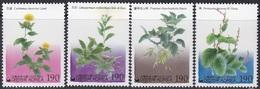 South Korea KPCC1687-90 Dye Plant, Safflower, Gromwell, Retuse Ash, Indigo-plant, Plantes - Textile