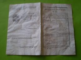 Lois:Construction Du Pont à Angles Sur L'Anglin Avec Tarif Du Péage (Vienne).Militaires Admis Dans La Gendarmerie.Prix - Decrees & Laws