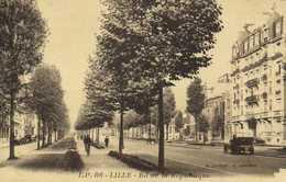 LILLE Bd De La Republique Voiture Ancienne    RV - Lille