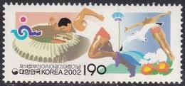 South Korea KPCC1765 14th Busan Asian Games, Stadium, Runner, Diving, Bird, Sea Gull, Sports - Timbres
