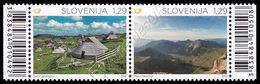 Slovenia 2015: Habitat Alpini (congiunta Liechtenstein) / Alps Habitat (joint Issue With Liechtenstein) ** - Joint Issues