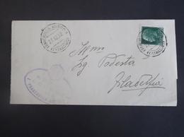 REGNO ITALIA BIGLIETTI CON OVALE DI FRANCHIGIA COMUNALE FRANCAVILLA ANGITOLA REGIE POSTE 1932 - Franchigia