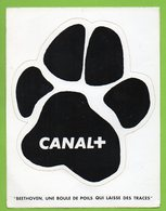 CANAL + * TV TELEVISION ► AUTOCOLLANT 843 ► - Autocollants
