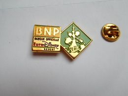 Beau Pin's , Banque BNP , Disney , EuroDisney - Banche