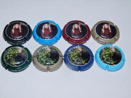 LOT  DE 8 CAPSULES DE CHAMPAGNE  - FRESNET BAUDOT - Collections