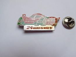 Beau Pin's , Auto Mazda , Les 24 Heures Du Mans 91 - Pin's