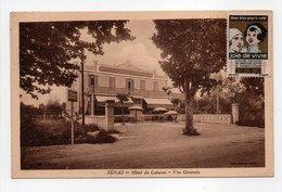 - CPA SÉNAS (13) - Hôtel Du Luberon - Vue Générale 1932 - Photo COMBIER - - France