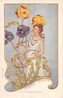 Illustrateur Jarnack-  C.22-Langage Des Fleurs - Pensée.Souvenir - Autres Illustrateurs