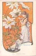Illustrateur Jarnack-  C.24-Langage Des Fleurs - Marguerite: Innocence - Autres Illustrateurs