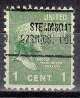 USA Precancel Vorausentwertung Preo, Locals Colorado, Steamboat Springs 705 - Vereinigte Staaten