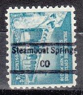 USA Precancel Vorausentwertung Preo, Locals Colorado, Steamboat Springs 848 - Vereinigte Staaten
