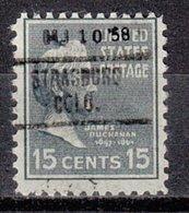 USA Precancel Vorausentwertung Preo, Locals Colorado, Strasburg 703 - Vereinigte Staaten
