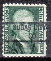 USA Precancel Vorausentwertung Preo, Locals Colorado, Sugar City 841 - Vereinigte Staaten