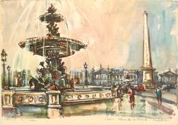 Lot De 10 CPSM PARIS-Toutes Scannées-4      L2778 - Cartes Postales