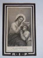 Anna Maria Josepha Biermans Wed Franciscus Josephus Vervloet 1814 1882 Lier Bouasse-Lebel Doodsprentje Image Mortuaire - Devotion Images