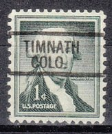 USA Precancel Vorausentwertung Preo, Locals Colorado, Timnath 812 - Vereinigte Staaten