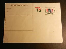 19881) CARTOLINA POSTALE ITALIA 76 NUOVO ITALIA REPUBBLICA - 1946-.. République