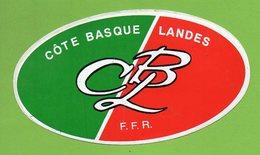 RUGBY CLUB COTE BASQUE LANDES ► AUTOCOLLANT 847 ► - Autocollants
