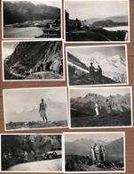 21 Photos Orig. Couple En Vacances & Randonnées En Italie Pour Séjour à L'hôtel Regina Palazzo à Stresa 1920/30 - Pin-up