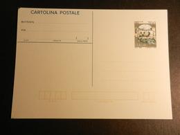 19881) CARTOLINA POSTALE CASTELLO DI CARINI LIRE 700 ITALIA REPUBBLICA NUOVA - 1946-.. République