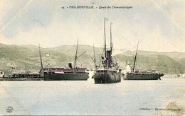 ALGERIE(PHILIPPEVILLE) BATEAU - Skikda (Philippeville)