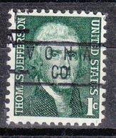 USA Precancel Vorausentwertung Preo, Locals Colorado, Vona 837 - Vereinigte Staaten