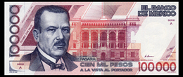 MEXICO 100000 PESOS 1988 Pick 94a Unc - Mexico