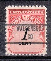 USA Precancel Vorausentwertung Preo, Locals Colorado, Walsenburg 853 - Vereinigte Staaten
