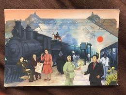 Carte Postale : Musée D'Orsay (Proust, Sartre, Simone De Beauvoir, Apollinaire, André Breton) - Musées