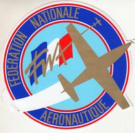Thematiques Aviation Autocollant Sticker France Fédération Nationale Aéronautique - Stickers