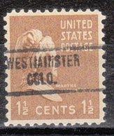 USA Precancel Vorausentwertung Preo, Locals Colorado, Wesminster 734 - Vereinigte Staaten