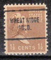USA Precancel Vorausentwertung Preo, Locals Colorado, Wheat Ridge 704 - Vereinigte Staaten