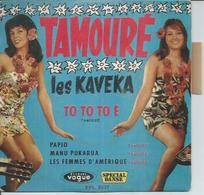 """45 Tours EP - LES KAVEKA  - VOGUE 8037 - """" TO TO TO E """" + 3 - Autres - Musique Française"""